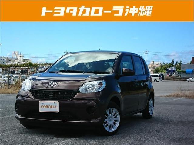 沖縄の中古車 トヨタ パッソ 車両価格 89.6万円 リ済別 2016(平成28)年 3.1万km ブラウン