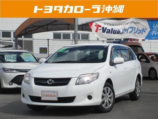 沖縄の中古車 トヨタ カローラフィールダー 車両価格 68万円 リ済別 2012(平成24)年 4.4万km ホワイト