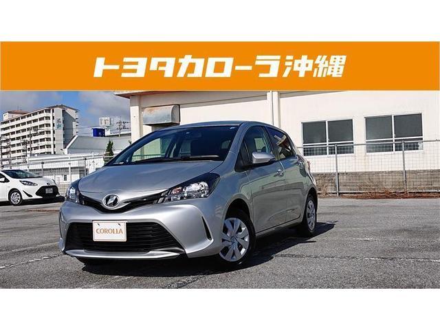 沖縄の中古車 トヨタ ヴィッツ 車両価格 94.7万円 リ済別 2016(平成28)年 2.4万km シルバー