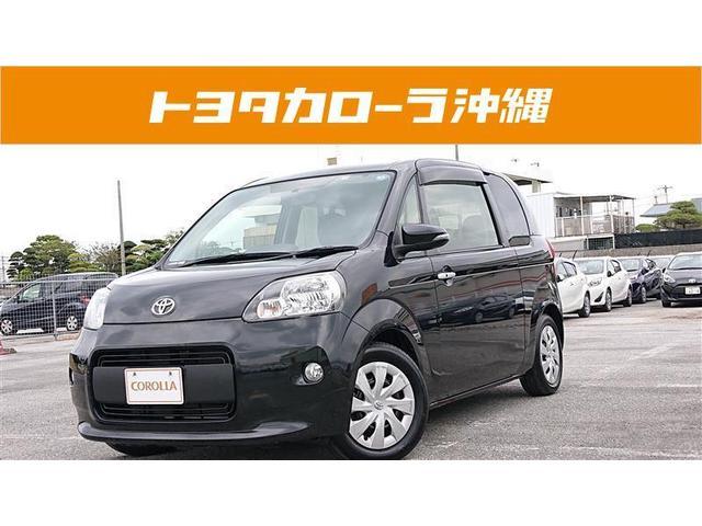 沖縄の中古車 トヨタ ポルテ 車両価格 95万円 リ済別 2013(平成25)年 2.2万km ブラック
