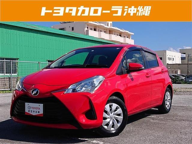 沖縄の中古車 トヨタ ヴィッツ 車両価格 95万円 リ済別 2017(平成29)年 1.4万km アカ