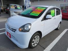 沖縄の中古車 ダイハツ ミライース 車両価格 49.8万円 リ済込 平成23年 7.5万K スカイブルー