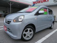 沖縄の中古車 ダイハツ ミライース 車両価格 49万円 リ済込 平成25年 8.6万K ブライトシルバーメタリック