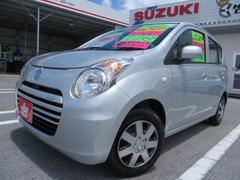 沖縄の中古車 スズキ アルトエコ 車両価格 53万円 リ済込 平成25年 4.1万K シルキーシルバーM