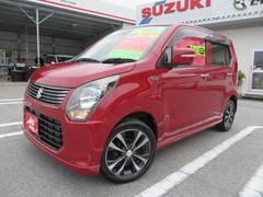 沖縄の中古車 スズキ ワゴンR 車両価格 83万円 リ済込 平成25年 2.7万K フェニックスレッドパール