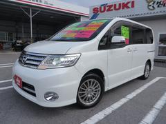 沖縄の中古車 日産 セレナ 車両価格 83万円 リ済込 平成21年 9.4万K パールホワイト