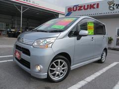 沖縄の中古車 ダイハツ ムーヴ 車両価格 67万円 リ済込 平成24年 6.7万K ブライトシルバーメタリック