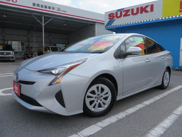 沖縄県の中古車ならプリウス S Toyota Safety Sense P ナビTV付き