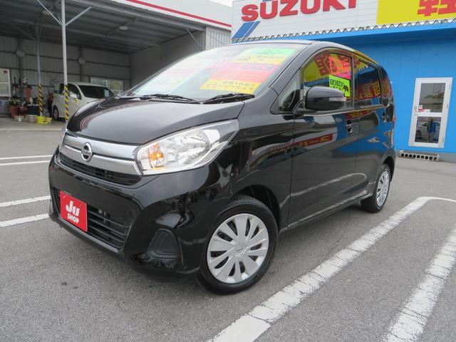 沖縄の中古車 日産 デイズ 車両価格 92万円 リ済込 2017(平成29)年 4.3万km ブラックM