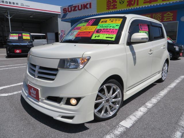 沖縄県の中古車ならbB Z エアロパッケージ HDDナビTV ブルートゥース