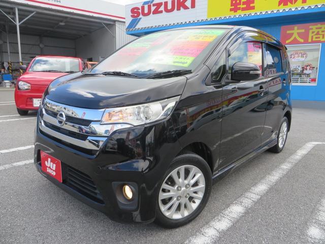 沖縄の中古車 日産 デイズ 車両価格 67万円 リ済込 2013(平成25)年 9.1万km ブラックM