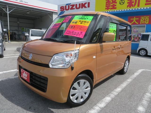 沖縄県の中古車ならスペーシア X エネチャージ搭載 パワースライドドア HIDヘッドライト