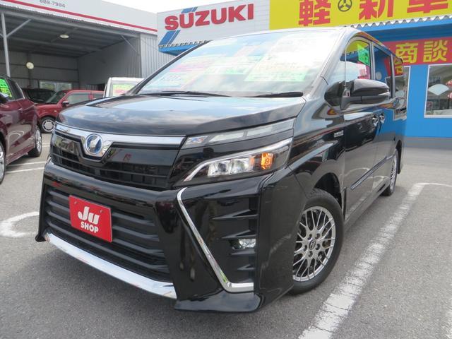 沖縄県の中古車ならヴォクシー ハイブリッドZS レーダーブレーキサポート ナビTV ETC