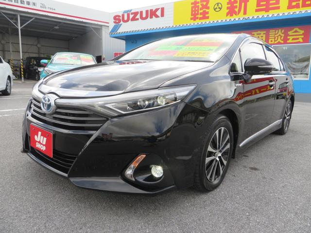 沖縄県の中古車ならSAI G ハイブリッド LEDヘッドライト パワーシート ナビ・フルセグTV・CD録音・DVD・ブルートゥース・バックカメラ・ETC リバース連動ドアミラー
