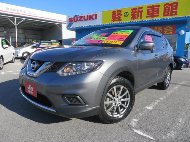 沖縄県の中古車ならエクストレイル 20X 7インチワイドナビ・フルセグTV・CD・DVD・ブルートゥース・バックカメラ・ETC・ドライブレコーダー プッシュスタート