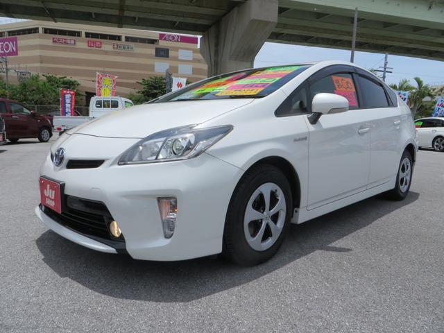 沖縄県の中古車ならプリウス G 助手席ウェルキャブパワーシート ブラックレザーシート HIDヘッドライト ナビ・フルセグTV・CD・DVD・ブルートゥース・バックカメラ・ETC