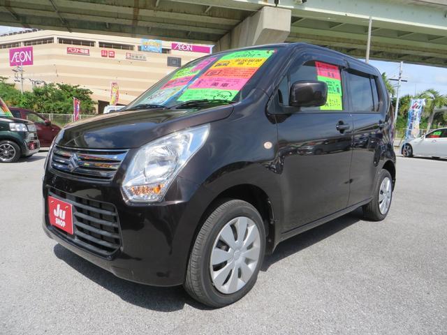 沖縄県の中古車ならワゴンR FX エネチャージ搭載 純正CD・FMAM・AUXオーディオ キーレスエントリー