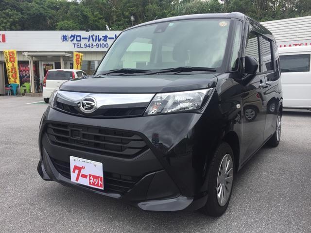 沖縄の中古車 ダイハツ トール 車両価格 140万円 リ済込 平成29年 0.3万km ブラック