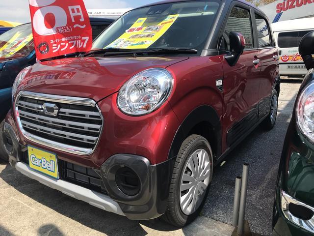 沖縄の中古車 ダイハツ キャスト 車両価格 ASK リ未 新車  レッド