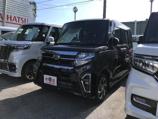 沖縄の中古車 ダイハツ タント 車両価格 169万円 リ済込 2020(令和2)年 3km ブラック
