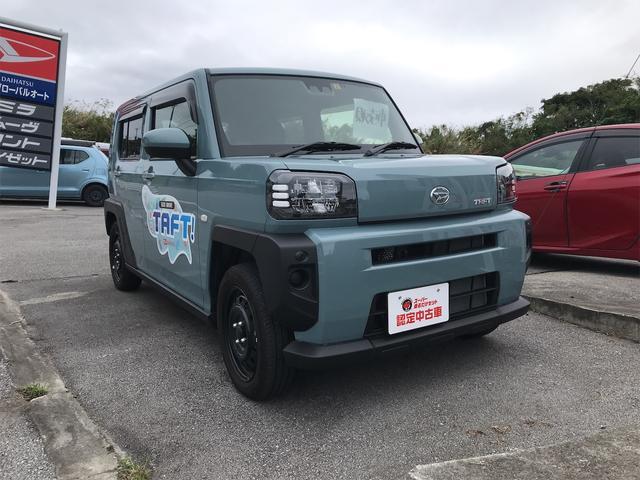 沖縄の中古車 ダイハツ タフト 車両価格 140万円 リ済込 2020(令和2)年 0.6万km ライトブルー