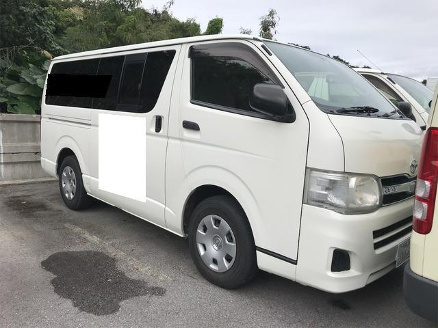 沖縄県の中古車ならレジアスエースバン ロングDX GLパッケージ CD/MD・キーレス・両側スライドドア・インパネAT・パワーウインドウ