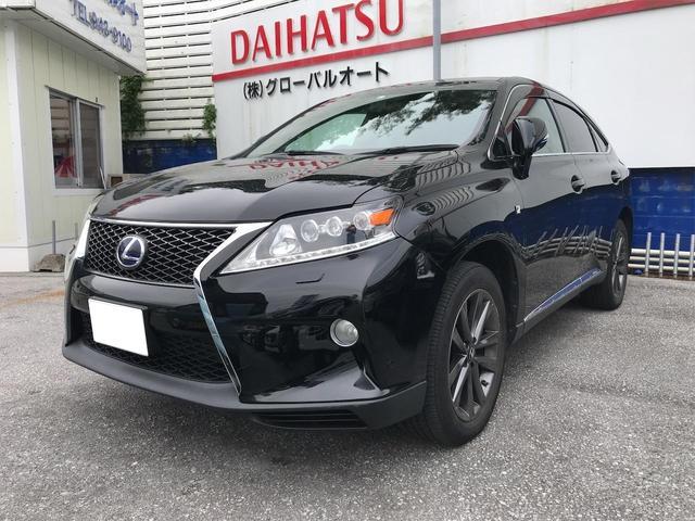 沖縄の中古車 レクサス RX 車両価格 245万円 リ済込 2012(平成24)年 7.0万km ブラック