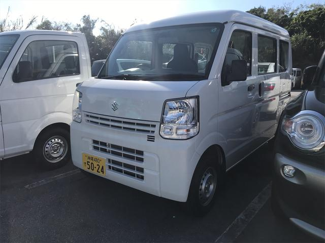 沖縄県の中古車ならエブリイ PA ハイルーフ AM/FMラジオ エアコン インパネAT 両側スライドドア