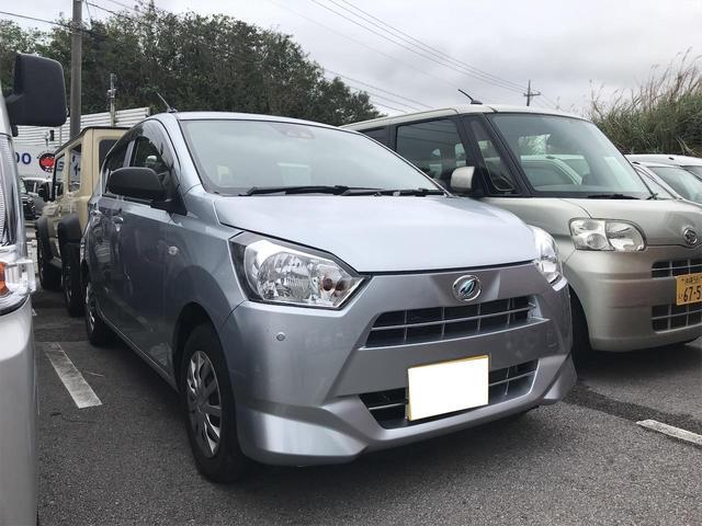 沖縄の中古車 ダイハツ ミライース 車両価格 85万円 リ済込 2019(令和1)年 0.9万km シルバー