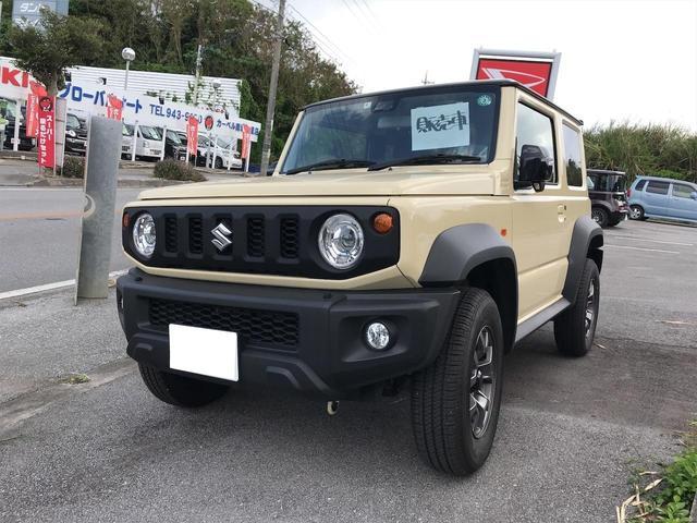 沖縄の中古車 スズキ ジムニーシエラ 車両価格 225万円 リ済込 2020(令和2)年 0.4万km クリームII