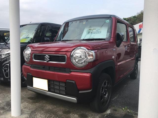 沖縄県南城市の中古車ならハスラー ハイブリッドG フルセグTV ナビ アラウンドビューモニター レーダーブレーキ