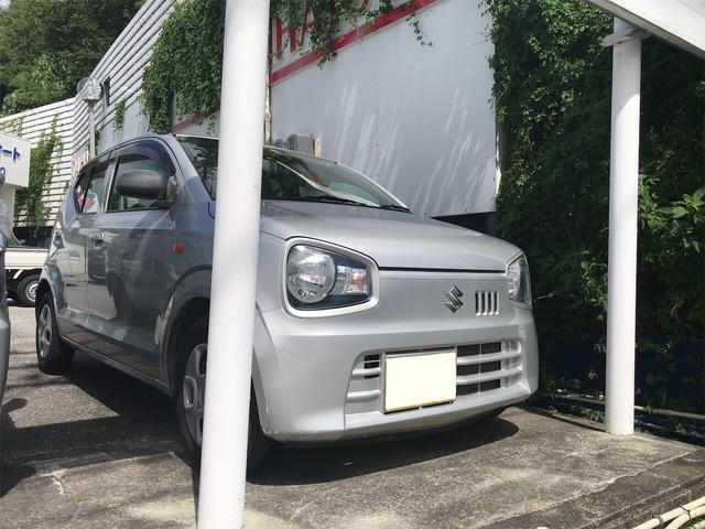 沖縄の中古車 スズキ アルト 車両価格 55万円 リ済込 2015(平成27)年 4.7万km シルバー
