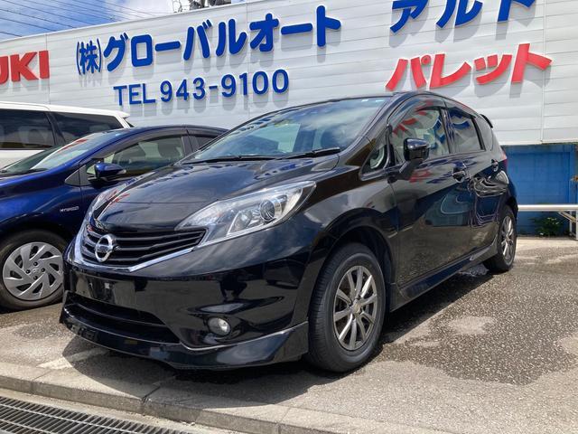 沖縄の中古車 日産 ノート 車両価格 105万円 リ済込 2016(平成28)年 4.3万km ブラック