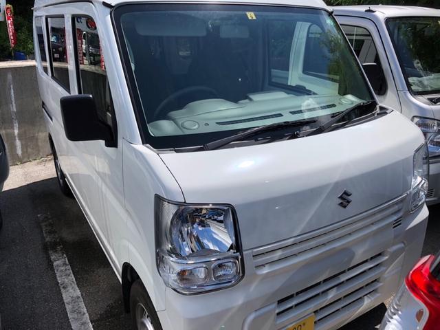 沖縄県の中古車ならエブリイ PAリミテッド キーレス 両側スライドドア AM/FMラジオ インパネAT