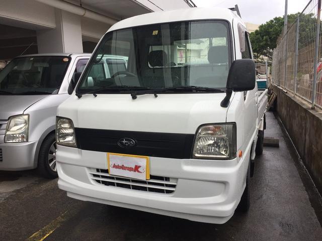 沖縄県那覇市の中古車ならサンバートラック 赤帽仕様4WD