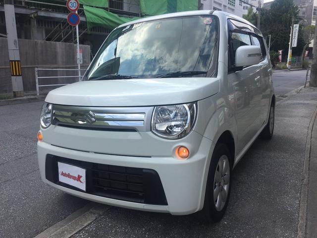 沖縄の中古車 スズキ MRワゴン 車両価格 43万円 リ済込 2012(平成24)年 12.6万km パールホワイト