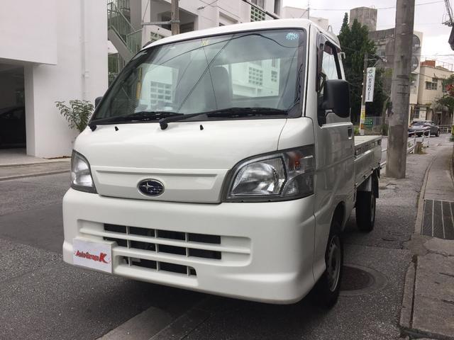 沖縄の中古車 スバル サンバートラック 車両価格 38万円 リ済込 2012(平成24)年 14.1万km ホワイト