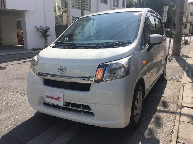 沖縄の中古車 ダイハツ ムーヴ 車両価格 38万円 リ済込 2015(平成27)年 9.6万km ホワイト