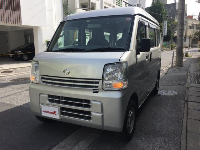 沖縄の中古車 日産 NV100クリッパーバン 車両価格 51万円 リ済込 2016(平成28)年 11.3万km シルバー