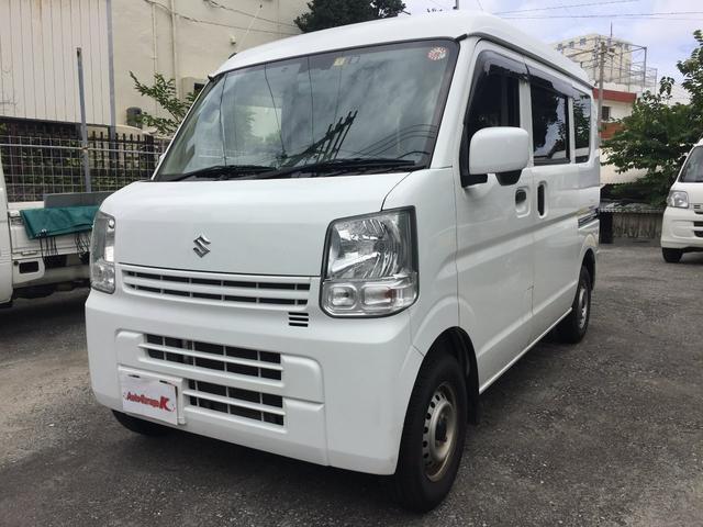 沖縄の中古車 スズキ エブリイ 車両価格 ASK リ済込 2016(平成28)年 11.8万km ホワイト