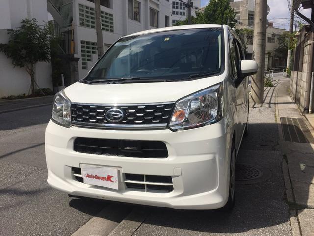 沖縄の中古車 ダイハツ ムーヴ 車両価格 43万円 リ済込 2016(平成28)年 13.2万km ホワイト