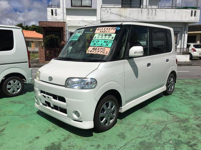 沖縄の中古車 ダイハツ タント 車両価格 35万円 リ済込 平成19年 9.3万km パール