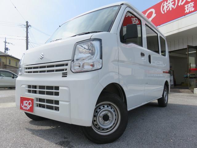 沖縄の中古車 スズキ エブリイ 車両価格 97万円 リ済別 平成30年 1.2万km ホワイト