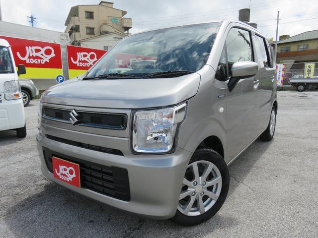 沖縄県の中古車ならワゴンR ハイブリッドFX リミテッド 届出済未使用車