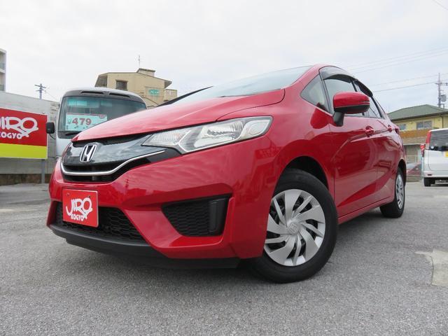 沖縄の中古車 ホンダ フィット 車両価格 89万円 リ済別 2014(平成26)年 2.3万km レッド
