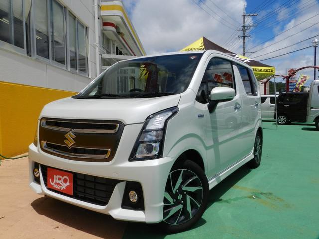 沖縄県の中古車ならワゴンRスティングレー ハイブリッドX リミテッド 衝突軽減装備 スマートキー