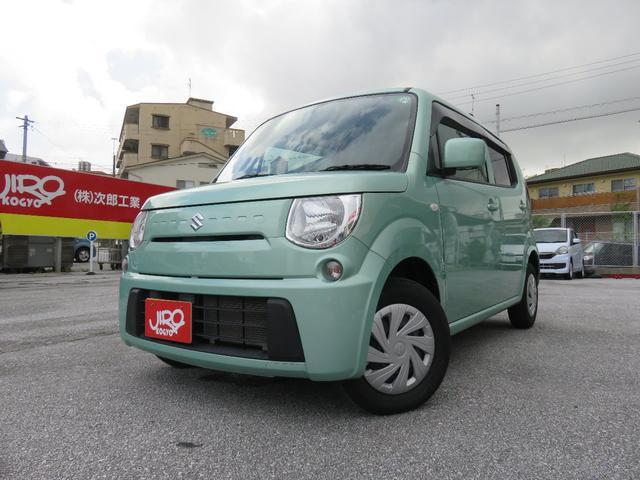 沖縄の中古車 スズキ MRワゴン 車両価格 85万円 リ済別 2015(平成27)年 4.4万km Lグリーン