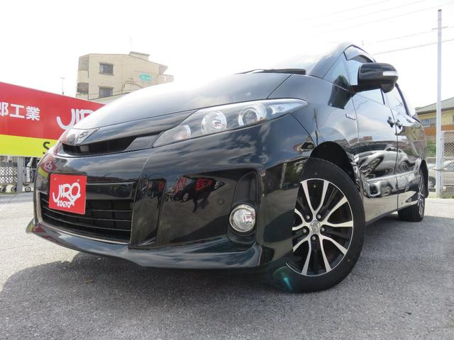 トヨタ アエラス ベリーエディション 両側電動スライドドア パワーシート ワンオーナー コーナーセンサー