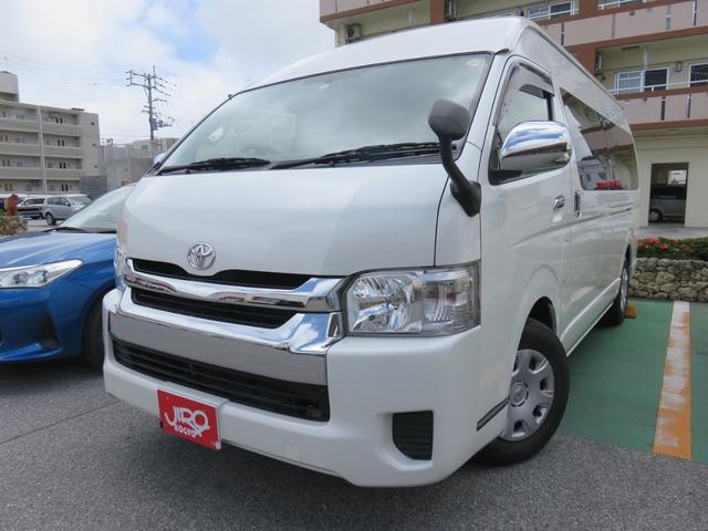 沖縄県の中古車ならハイエースワゴン グランドキャビン 社外メモリーナビ・TV バックカメラ 電動スライドドア 10人乗り