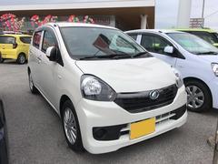 沖縄の中古車 ダイハツ ミライース 車両価格 105万円 リ済別 平成28年 0.5万K パールホワイト3